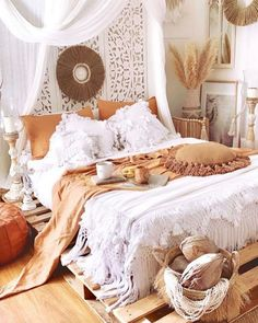 bohemian bedroom 721913015252768598 - trends apartment designs design bedroom room interi ideas furniture small girls for l simple picture-Relaxing Bohemian Bedroom Design Ideas Source by briggittesoan Bohemian Bedroom Design, Boho Room, Design Bedroom, Bohemian Decor, Bohemian Style, Bohemian Bedding, Chic Bedding, Luxury Bedding, Bedding Sets