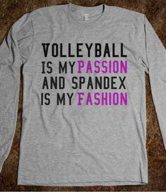 Volleyball shirt (from skreened.com)