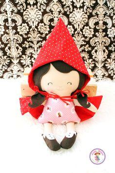 Little Red Riding Hood Doll - Courtney - Ready To Ship #rileyblake #littleredridinghood #tashanoel