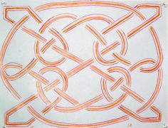 Waldorf ~ 4th grade ~ Form Drawing ~ Longobardian Knot