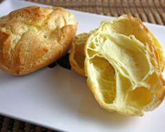 Choux pastry... wish I had a food processor!