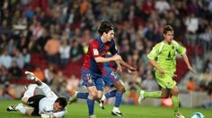 Click on  VISIT SITE to see it. April 18th, 2007. Messi's goal against Getafe, similar to Maradona ( 1986 ).