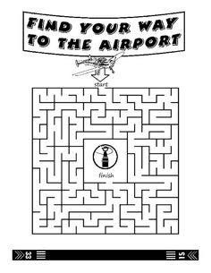 101 Best airport and airplane coloring book images