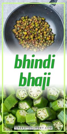 Our Bhindi Bhaji recipe is a healthy Indian side dish that's easy to prepare. It will only take about thirty minutes to prepare them. Master the art of cooking okra by making them! #okra #okrarecipes #sidedish #sidedishrecipes #indianfood #indianrecipes #indianokrarecipes #healthyrecipes #healthysidedishrecipes #indiansidedish #indiansidedishrecipes #easyrecipes #easysidedishrecipes #bestsidedishrecipes Vegetarian Side Dishes, Vegetable Side Dishes, Vegetarian Recipes, Vegan Meals, Gourmet Recipes, Indian Cookbook, Vegan Cookbook, Bhindi Bhaji, Indian Okra Recipes