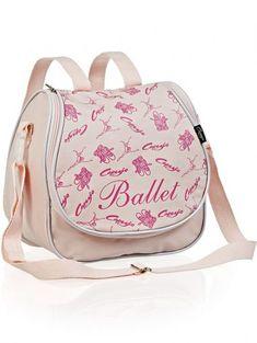 5c432029c Bolsa de Ballet Mel Capezio Material: couro sintético Medidas: 25cm X 25cm  X 12cm