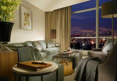 An Executive #Suite overlooking the City #mexico #stregis