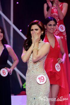 Winning Moment by iamdencio  Miss World 2015 Philippines Hillarie Danielle Parungao Winning Moment.