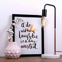 Our Marmo table lamp is a hot favourite and a great piece for any side table or desk. Featured with the hexagon vase and foil typography print. Buy in store or online. Kmart Home, Kmart Decor, Bedside Lamp, Nightstand, Bedroom Styles, Home Staging, Decoration, Rustic Decor, Bedroom Decor