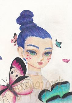Check out this item in my Etsy shop https://www.etsy.com/listing/565776790/in-a-dream-original-colored-pencil