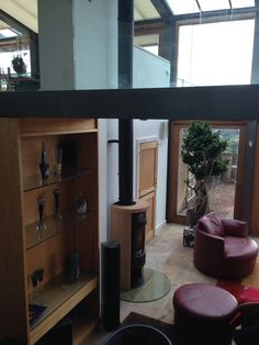The fabulous Contura 620s Sandstone stove and Poujoulat flue fitted by Hagley Stoves