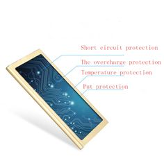 New ultrathin solar power bank 2000 ma, general gifts right bank - Ringing Shop