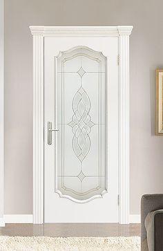 Межкомнатная дверь «Сицилия В». Отделка «белая эмаль» #дверирулес #двери #межкомнатные #doors #русский_лес