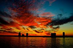 sunset in tampa (: