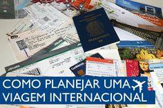 10 dicas de como planejar uma viagem internacional: desde o início ao dia de viagem. Dicas para comprar passagens, planejar o roteiro e quanto vai gastar.