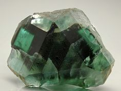 Fluorite from the Okorusu Mine, Namibia. Crystal Classics Minerals