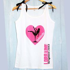 Personalised vest tank top. Bridal Shower Hen Do by CinnamonBayLtd, £9.99