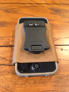 iPhone holster Iphone Holster, Custom Holsters, Kydex Holster, Tactical Gear, Mp3 Player, Weapons, Phone Cases, 3d, Random