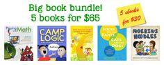 The paperback bundle comes with PDFs of all five books. Save $14 on the paperback bundle. Save$11 on the ebook bundle.With the ebook bundle you getKindle, ePub, and PDF formats, DRM-free. Enjoy!  Books for parents & teachers with children:…Read more ›