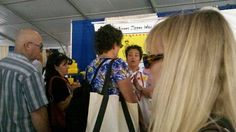 """Selling Bee's Knees Zipper Wax at the Newport International Boat Show... we were...""""All The Buzz!"""""""
