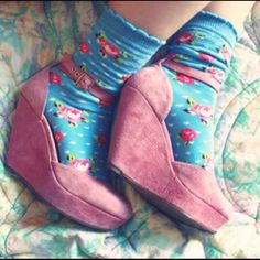 WANTED: Looking For Pink Suede ASOS Wedge Size 9 Not selling, but desperately looking for these. ASOS Shoes Wedges