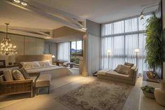 Imagem 34 – o luxo Home Decor Bedroom, Master Bedroom, Big Sofas, Suites, Kuala Lumpur, Location, Midcentury Modern, Sweet Home, House Design