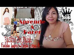 BÁSICO DE FALDA Y DESARROLLO DE MODAS/ Bertha Buritica Clase #2 - YouTube Bikinis, Swimwear, Youtube, Crop Tops, Chile, Fashion, World, Sewing Lessons, Sewing Tutorials
