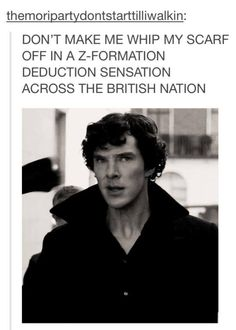 Hahaha!!! Sherlock... Oh Sherlock... (oh I miss tumblr already just seeing the url... I exceeded my daily post limit!)