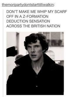 Hahaha!!! Sherlock... Oh Sherlock...