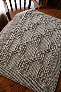 Turtle Tracks Blanket by Lisa Naskrent This one even has an animal theme.