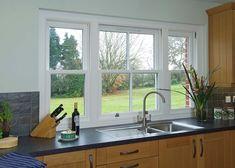 Image result for kitchen sash windows