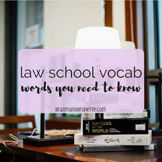 captions heres a reference guide of law school vocab Prep School, School Hacks, Law School Quotes, Law School Humor, Law Notes, Lsat Prep, School Study Tips, School Tips, School Info