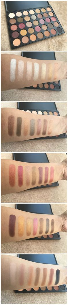 MORPHE 35F PALETTE – REVIEW AND SWATCHES