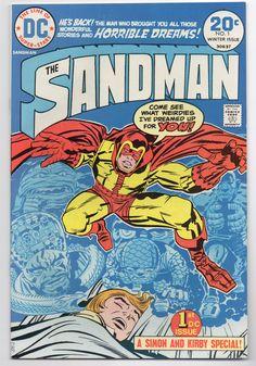 "The Sandman Vol. 1 #1 ""General Electric"" - DC Comics - VF+ Condition - Joe Simon and Jack Kirby - Neil Gaiman Sandman Inspiration by ThisCharmingManCave on Etsy  https://www.etsy.com/listing/519413864/the-sandman-vol-1-1-general-electric-dc  #TheSandman #JackKirby #JoeSimon #NeilGaiman"