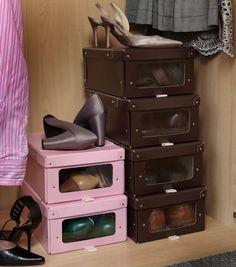 2 x Card Shoe Storage Boxes