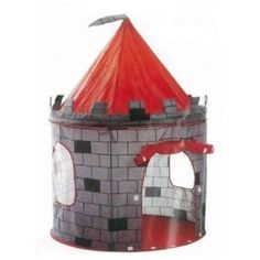 Children Play Pop Up Castle Tent for Indoor/Outdoor Use Foldable with Carry Case Indoor Tent For Kids, Indoor Tents, Outdoor Toys For Kids, Indoor Outdoor, Outdoor Games, Childrens Play Tents, Kids Tents, Childrens Playhouse, Tienda Pop-up
