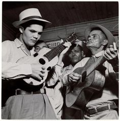 Louise Rosskam, Country Musicians. Near Toa Alta, Puerto Rico, February 1947,