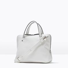 ZARA - NEW THIS WEEK - SOFT CITY BAG