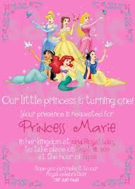 Disney Princess Birthday Invitation Free To Download And