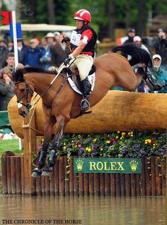 Buck Davidson and Ballynoe Castle RM  Chronicle of the Horse