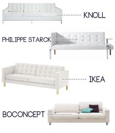 White Leather Karlstad IKEA Chaise Lounge With Metal Legs. | I N T E R I O  R S | Pinterest | Chaise Lounges, White Leather And Legs