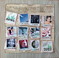 Scrapbooking Ideas for Recording a Top 10 Round-Up of Current Culture | Kiki Kougioumtzi | Get It Scrapped