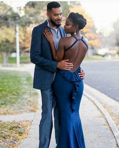 wedding beauty couple Here Are Some Fashion Forward Pre-Wedding Couple Styles Black Love Couples, Cute Couples, Marriage Romance, Black Families, Fashion Couple, Couple Outfits, Schneider, Love At First Sight, Couple Posing