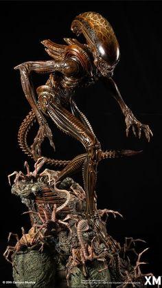 Monster Design, Monster Art, Alien Hive, Sculpture Techniques, Alien Concept, Alien Vs Predator, Pixel Art, 3 D, Two By Two
