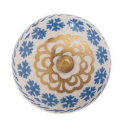 Decorative Ceramic Drawer Knob - Oliver Bonas