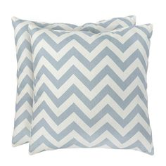 I pinned this Zig Zag Pillow in Blue - Set of 2 from the Modern Family event at Joss and Main!$23.95