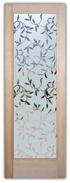 Ramas decorativas para sandblast en vidrio.