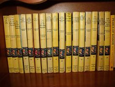 The original Nancy Drew Mysteries. I read them all, and I have them all! I have some first printings as well.