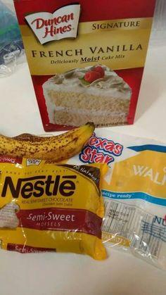 Banana Bread-4 Ingredients