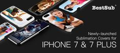 Newly-launched Sublimation Covers for iPhone 7 & 7 Plus from BestSub | New Products | What's New?