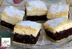Érdekel a receptje? Kattints a képre! Hungarian Recipes, Cake Cookies, Cheesecake, Food And Drink, Sweets, Eat, Cakes, France, Romanian Recipes
